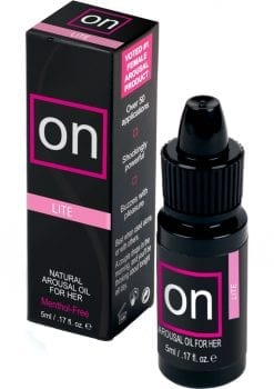 Sensuva On Lite Arousal Oil For Her .17oz 12 Per Refill