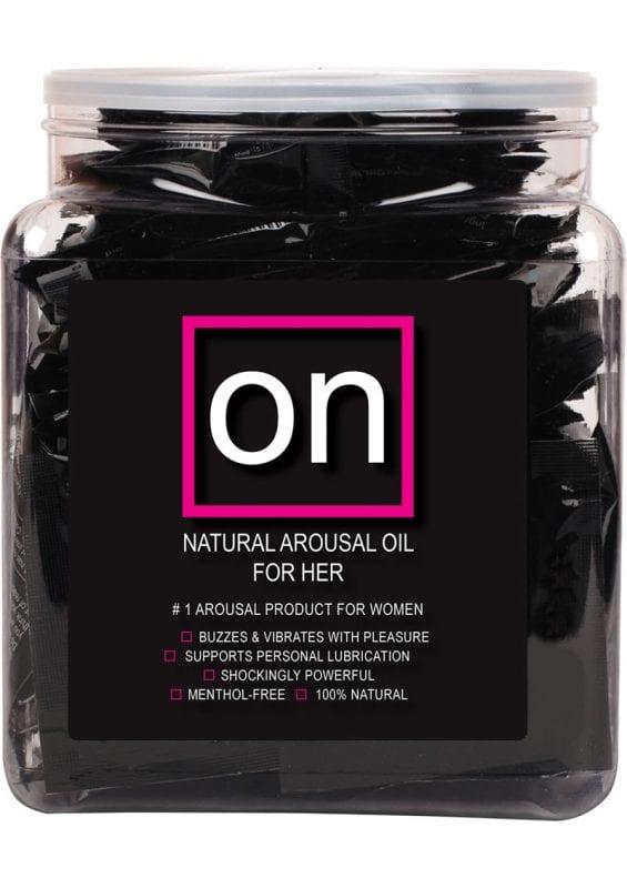 Sensuva On Natural Arousal Oil For Her .3ml 75 Per Bowl