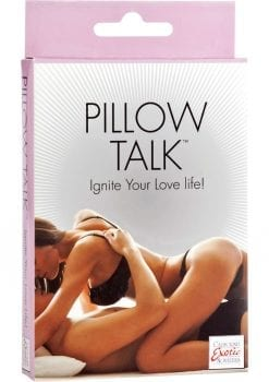 Pillow Talk Couples Card Game