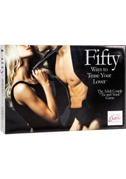 Fifty Ways To Tease Your Lover Bondage Game