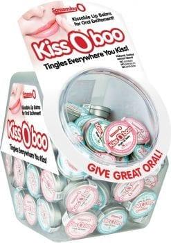 Kiss O Boo Assorted Lip Balm 48 Each Per Bowl
