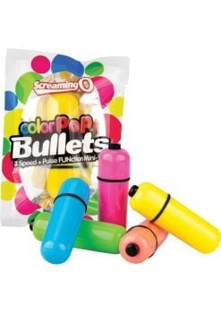 Color Pop Bullets Waterproof Assorted Colors 20 Each Per Display