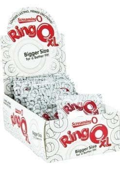 RingO XL Cockrings Clear 18 Each Per Display