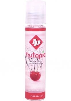 Frutopia Natural Flavor Water Based Personal Lubricant Cherry 1 Ounce Bottle