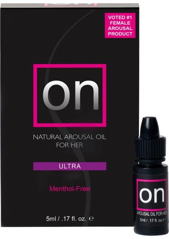 Sensuva On Ultra Natural Arousal Oil For Her LG Box .17oz