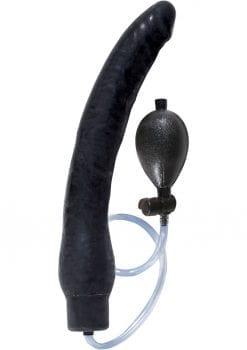 Ram Inflatable Latex Dong Waterproof Black 12 Inch