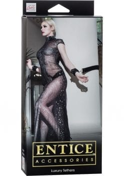 Entice Accessories Lexury Tethers Black