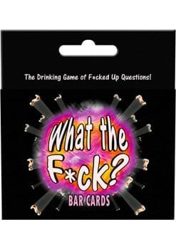 What The F*ck Bar Cards Drinking Game