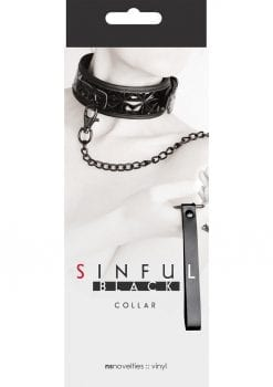 Sinful Collar Black