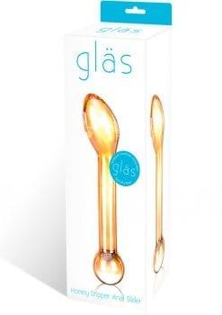 Glas Honey Dripper Anal Slider
