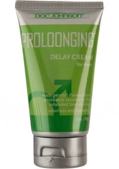 Proloonging Delay Cream For Men 2 Ounce - Bulk