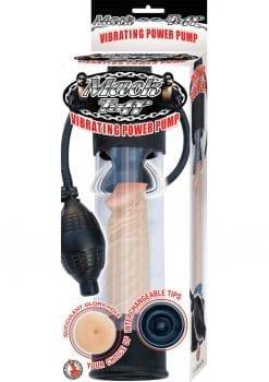 Mack Tuff Vibrating Power Penis Pump Waterproof