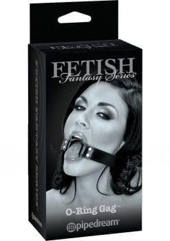 Fetish Fantasy Series Limited Edition O-Ring Gag Black