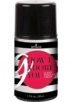 Sensuva G How I Adore You G Spot Stimulant Cream For Her 1.7oz
