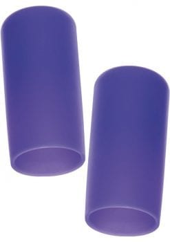 Nipple Play Silicone Nipple Suckers Purple