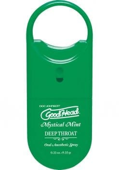 Goodhead Deep Throat To Go Oral Anesthetic Spray Mint .33 Ounce
