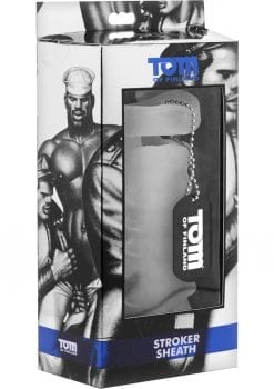 Tom Of Finland Stroker Sheath Masturbator Sleeve White 5.5 Inch