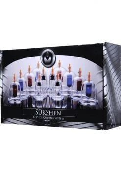 Sukshen Cupping System 12 Piece Set