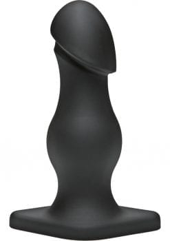 TitanMen The Rumpy Anal Plug Black 6.5 Inch