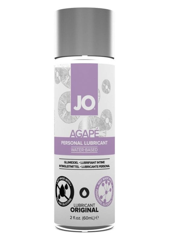 Jo Agape Water Based Personal Lubricant 2 Ounce