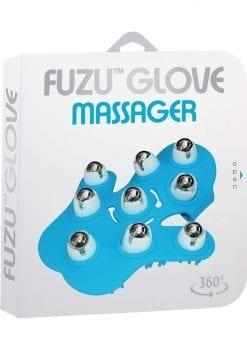 Fuzu Glove 360 degree rolling balls  Length 6 Inches Blue