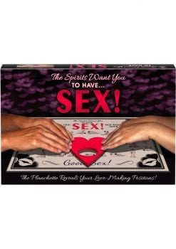 The Spirits Want You To Have Sex Ouija Board Game