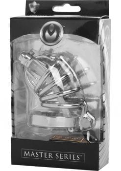 Master Series Repressor Locking Chastity Cage
