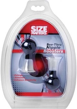 Size Matters See Thru Nipple Boosters 2.5 Inch