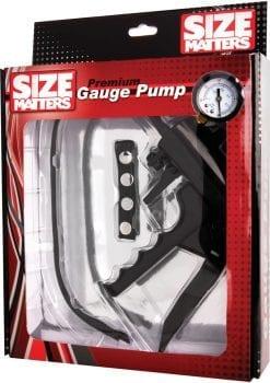 Size Matters Premium Gauge Pump Black