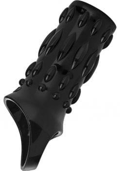 Size Matters Sheath Sensations Enhancer Sleeve Black 4 Inch