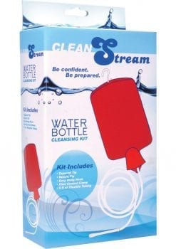 Clean Stream Water Bottle Cleansing Kit Red Holds 2 Quart