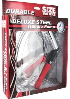 Size Matters Deluxe Steel Handle Pump Accessory