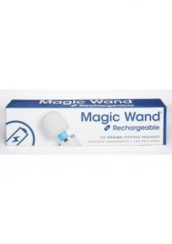 Magic Wand Personal Massager Rechargeable Silicone White