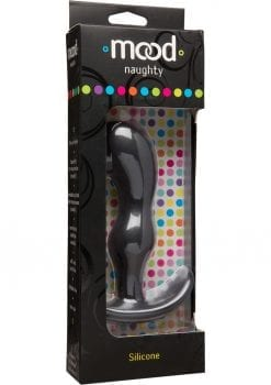 Mood Naughty 2 Silicone Anal Plug - Extra Large - Black