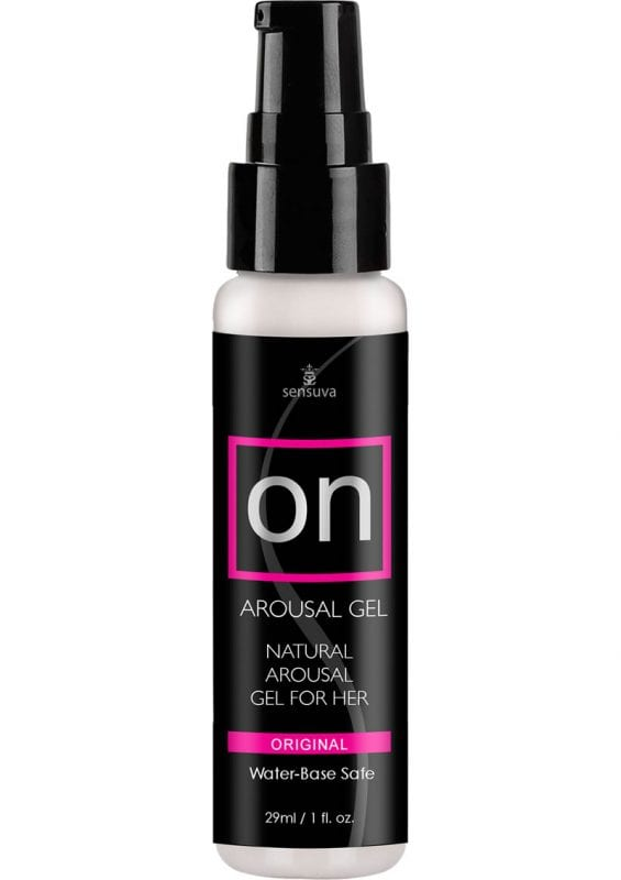 Sensuva On Arousal Gel Original Water Base Natural Gel For Her 1oz