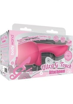 Bodywand Silicone Ultra G-Touch Attachment Pink Small
