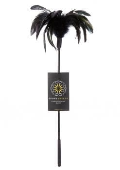 Fantasy Tickler Starburst Feather Tickler Black