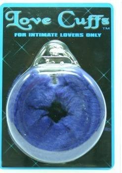 FURRY LOVE CUFFS BLUE