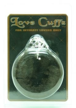 FURRY LOVE CUFFS BROWN
