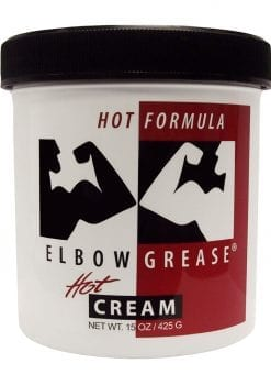 Elbow Grease Hot Cream Lubricant 15 Ounce