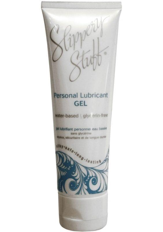 Slippery Stuff Water Based Gel Lubricant 4 Ounce Tube