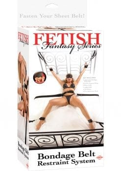 Fetish Fantasy Series Bondage Belt Restraint System Black