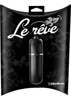 Le Reve Bullet Waterproof 2.5 Inch Black