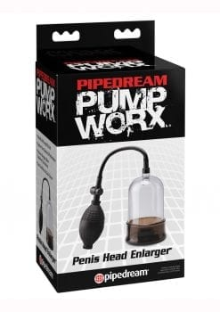 Pump Worx Penis Head Enlarger Clear