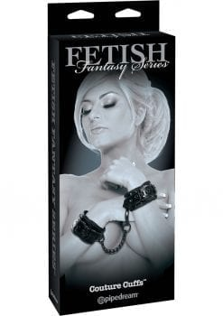 Fetish Fantasy Series Limited Edition Couture Cuffs Adjustable Black