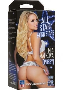 Signature Strokers Mia Malkova Ultraskyn Pocket Masturbator - Pussy - Vanilla