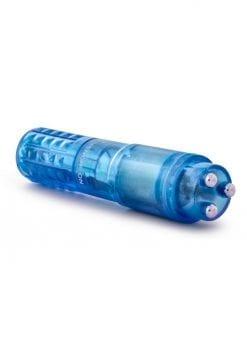 Sexy Things Rocker Mini Massager Waterproof Blue 4 Inch