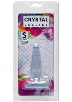 Crystal Jellies Butt Plug - Small - Clear