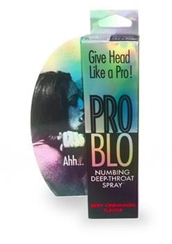 Pro Blow Numbing Deep-Throat Spray Sexy Cinnamon 1 Ounce