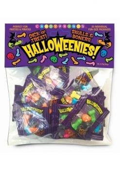 Candy Prints HalloWeenies! Minis (25 Packs Per Bag)